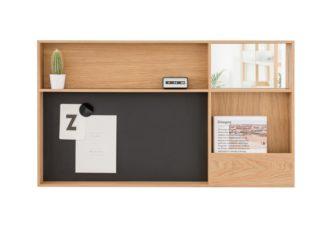An Image of Case Arca Wall Box Oak Large