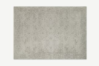 An Image of Yolanda Faded Persian Jacquard Rug, 200 x 300cm, Off White