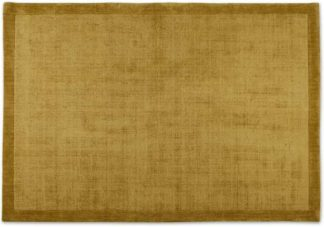 An Image of Jago Border Rug, Extra Large 200 x 300 cm, Antique Gold