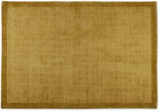 An Image of Jago Border Rug, Large 160 x 230cm, Antique Gold