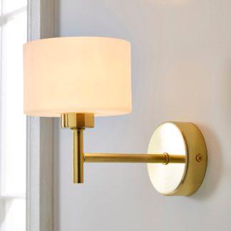 An Image of Elsie Wall Light Brass Gold