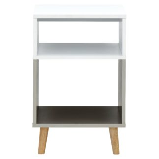 An Image of Delta Lamp Table Grey
