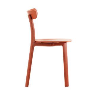An Image of Vitra All Plastics Chair Brick