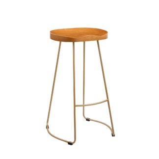 An Image of Concorde Bar Stool Gold