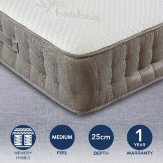 An Image of Bedmaster Bamboo Vitality 2000 Mattress White