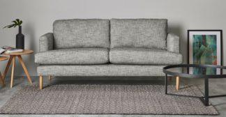 An Image of Mira Flatweave Rug, Large 160 x 230 cm, Grey