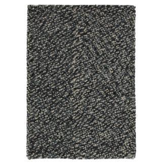 An Image of Grey Pebbles Rug Grey