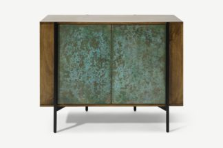 An Image of Morland Compact Sideboard, Mango Wood & Patina