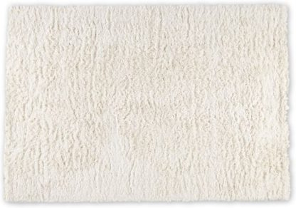 An Image of Erin Deep Pile Rug, Small 120 x 170cm, Off White