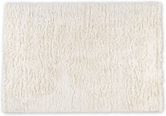 An Image of Erin Deep Pile Rug, Large 160 x 230cm, Off White