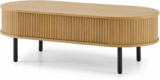 An Image of Tambo Storage Coffee Table, Oak