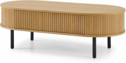 An Image of Tambo Storage Coffee Table, Oak