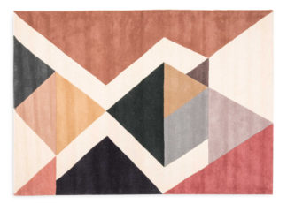 An Image of Linie Design Amazing Rug Combi