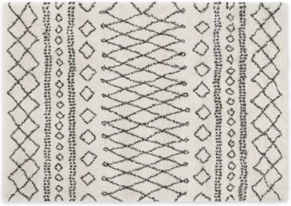 An Image of Freda Rug, Small 120 x 170cm, Off White