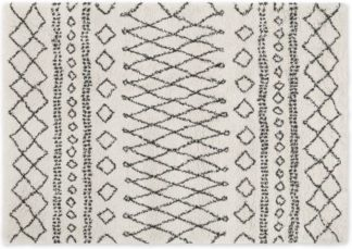An Image of Freda Rug, Large 160 x 230cm, Off White
