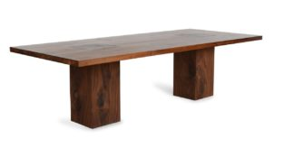 An Image of Riva 1920 Boss Executive Table 8-10 Seater Walnut