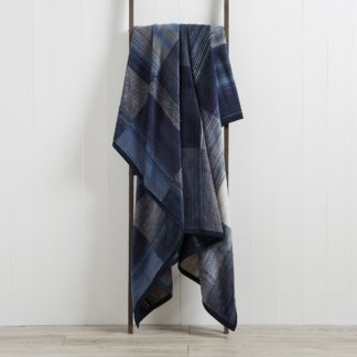 An Image of Thermosoft Navy 220cm x 240cm Blanket Navy (Blue)