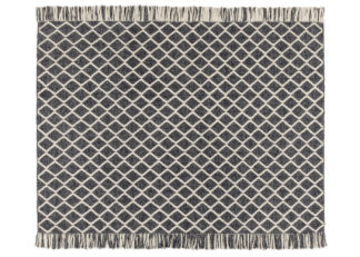 An Image of Ligne Pure Merge Rug Charcoal 170cm x 240cm