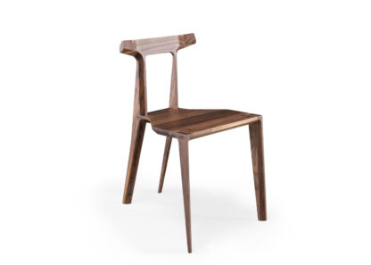 An Image of Wewood Orca Chair Walnut