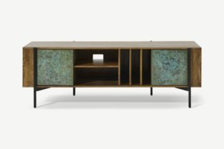 An Image of Morland Wide TV Unit, Mango Wood & Patina