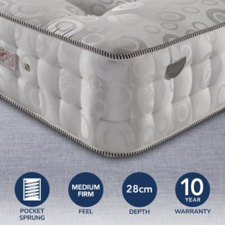 An Image of Pocketo 3000 Pocket Sprung Mattress White