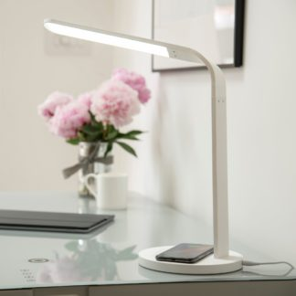 An Image of Koble Arc Phone Charging Lamp White