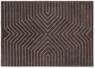 An Image of Moldan Soft Pile Rug, Large 160 x 230cm, Charcoal Grey
