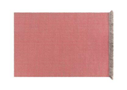 An Image of Gandia Blasco Garden Layers Rug Diagonal Almond Red