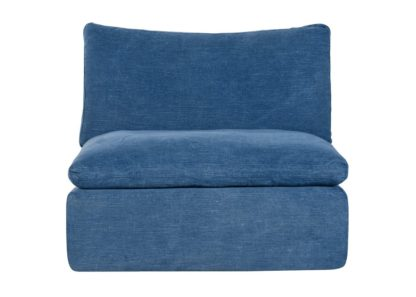 An Image of Timothy Oulton Noble Souls Nest 1 Seater Sofa Old Loom Ocean