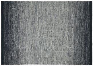 An Image of Gandia Blasco Lule Rug Black 200 x 300cm