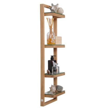 An Image of Wireworks Zone Wall-Mounted Bathroom Shelves