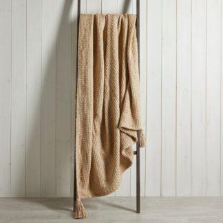 An Image of Ludlow Cotton 130cm x 180cm Throw Off-White