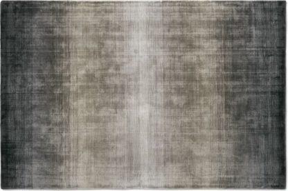 An Image of Tonos Graded Viscose Rug, Large 160 x 230cm, Warm Grey