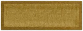 An Image of Jago Border Runner, 70 x 200cm, Antique Gold