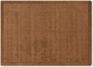 An Image of Jago Border Rug, Large 160 x 230cm, Terracotta