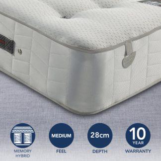 An Image of Pocketo 1000 Reflex Plus Mattress White