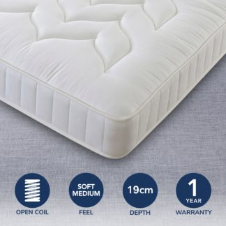 An Image of Comfort Master Quilted Mattress White