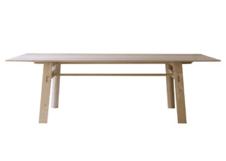 An Image of SCP Jethro Dining Table 240 x 100cm European Ash
