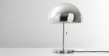 An Image of Collet Dome Table Lamp, Chrome