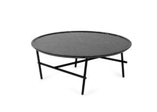 An Image of Ligne Roset Yuragi Low Table Noir