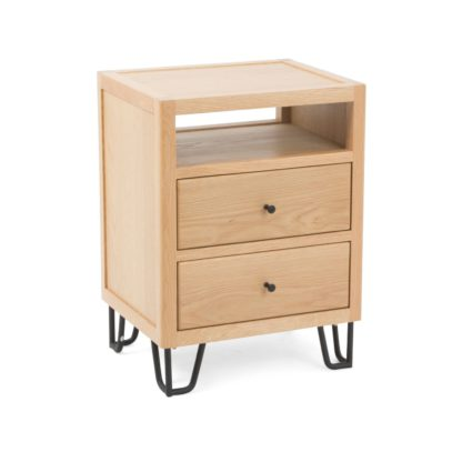 An Image of Heal's Brunel Bedside Table