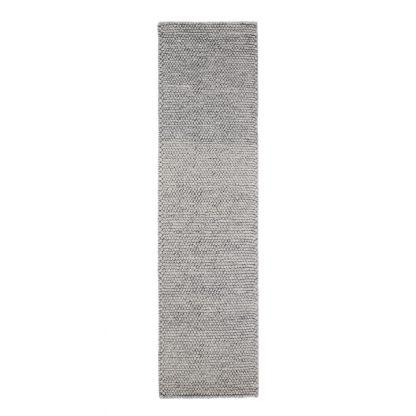 An Image of Pebble Wool Runner Grey