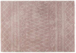 An Image of Freda Rug, Large 160 x 230cm, Soft Pink