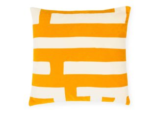 An Image of One Nine Eight Five Velvet Labyrinth Cushion