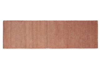 An Image of Heal's Romilly Recycled Runner Terracotta 70 x 230cm