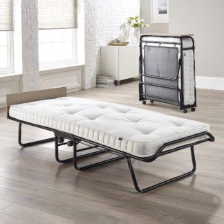 An Image of Supreme Pocket Sprung Folding Bed Black