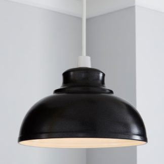 An Image of Galley Shimmer Easy Fit Pendant Black