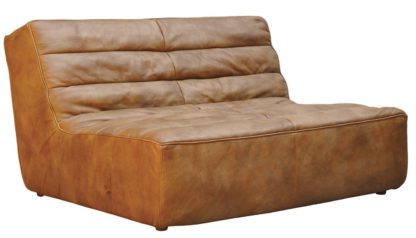 An Image of Timothy Oulton Shabby 2 Seater Sofa Savage Leather
