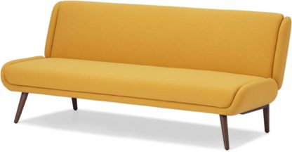 An Image of Moby Sofa Bed, Yolk Yellow