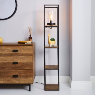 An Image of Fulton Floor Lamp Pine